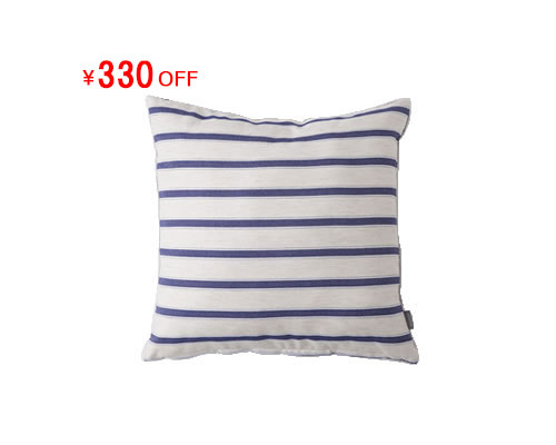 TOMARU CUSHION COVER (ボーダー)